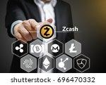 concept photo of  business man... | Shutterstock . vector #696470332