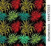 seamless vector pattern with...   Shutterstock .eps vector #696472315