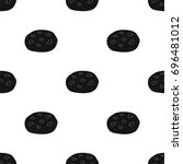 chocolate chip cookies icon in...   Shutterstock . vector #696481012