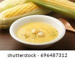corn soup   Shutterstock . vector #696487312