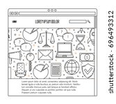 business ux template  social...