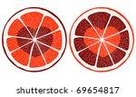 Hearts Inside Citrus Slice.