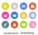 package icons | Shutterstock .eps vector #696550936