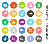 transport icons   Shutterstock .eps vector #696551188