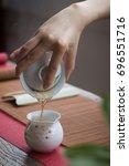 black tea | Shutterstock . vector #696551716