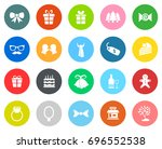 christmas icons | Shutterstock .eps vector #696552538