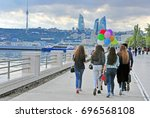 baku  azerbaijan   september 25 ... | Shutterstock . vector #696568108