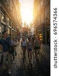 prague  czech republic   july...   Shutterstock . vector #696574366
