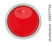 red circular button  isolated... | Shutterstock .eps vector #696577726