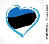 love estonia greeting card....