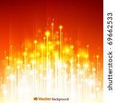 abstract optical fibers | Shutterstock .eps vector #69662533