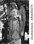 Cemetery Graveyard Stone Angel...