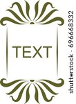 text label logo vector template ... | Shutterstock .eps vector #696668332