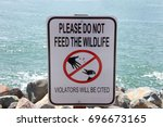 Sign With Text Do Not Feed The...