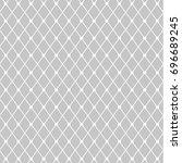 geometric textile seamless... | Shutterstock .eps vector #696689245