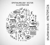 vector illustration. the set of ... | Shutterstock .eps vector #696709126