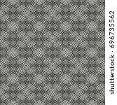 abstract ornate mottled... | Shutterstock .eps vector #696735562