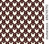 seamless surface pattern design ... | Shutterstock .eps vector #696745792
