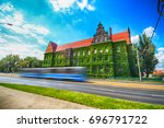 wroclaw  poland   august 14 ... | Shutterstock . vector #696791722