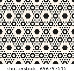 simple geometric seamless... | Shutterstock .eps vector #696797515