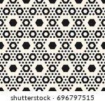 simple geometric seamless... | Shutterstock .eps vector #696797515