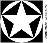 star  pentagon  circle  square | Shutterstock .eps vector #696816892