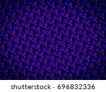 a hand drawing pattern made of... | Shutterstock . vector #696832336