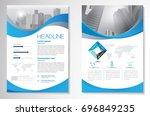 template vector design for... | Shutterstock .eps vector #696849235