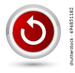 refresh arrow icon isolated on... | Shutterstock . vector #696851182