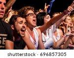 benicassim  spain   jul 16 ... | Shutterstock . vector #696857305