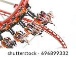 bangkok  thailand   august 6 ...   Shutterstock . vector #696899332