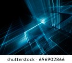 abstract background element.... | Shutterstock . vector #696902866