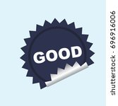 label | Shutterstock .eps vector #696916006