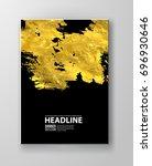 vector black and gold design... | Shutterstock .eps vector #696930646