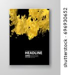 vector black and gold design... | Shutterstock .eps vector #696930652