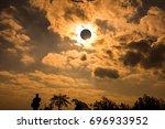amazing scientific natural... | Shutterstock . vector #696933952