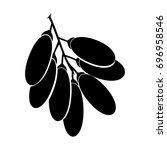 fruit date logo   Shutterstock .eps vector #696958546