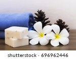 Small photo of Herbal rice milk hand made soap