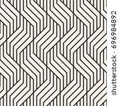 vector seamless pattern. modern ... | Shutterstock .eps vector #696984892