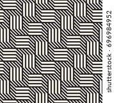 vector seamless pattern. modern ... | Shutterstock .eps vector #696984952