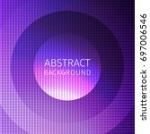 Purple Abstract Background Of...