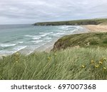 Windswept Beach At Gwithian In...