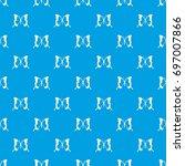 swallowtail butterfly pattern...   Shutterstock .eps vector #697007866