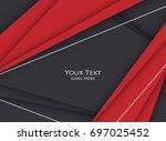 bright corporate  design....   Shutterstock . vector #697025452