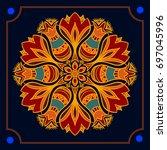mandala. decor for your design  ...   Shutterstock .eps vector #697045996