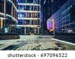 exterior of modern buildings   Shutterstock . vector #697096522