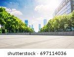 modern buildings | Shutterstock . vector #697114036