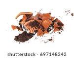 broken flowerpot   Shutterstock . vector #697148242