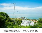 beautiful view from nui lon ...   Shutterstock . vector #697214515