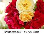flowers bouquet | Shutterstock . vector #697216885